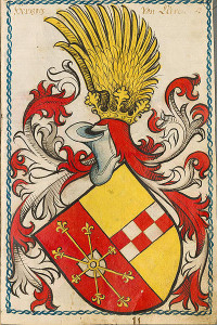 Scheibler'sches Wappenbuch , älterer Teil, Volné dílo: wikipedia