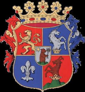 Coat of arms of Szepes County, Kingdom of Hungary, Volné dílo: wikipedia